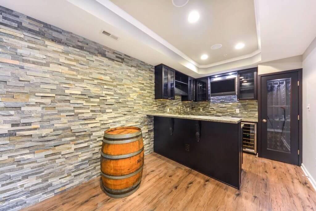 Basement Renovation Kitchen Design