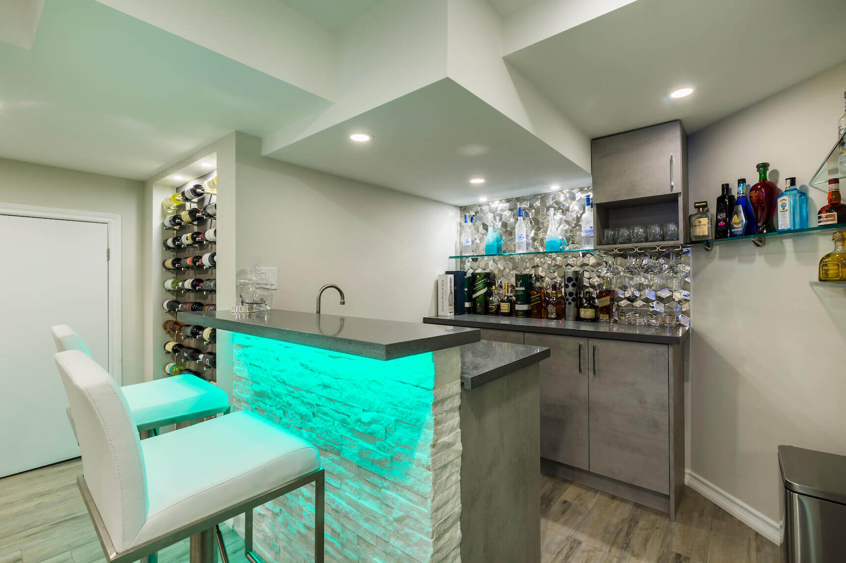 Basement Bar Ideas Design Simple Ideas For Small Large Bar