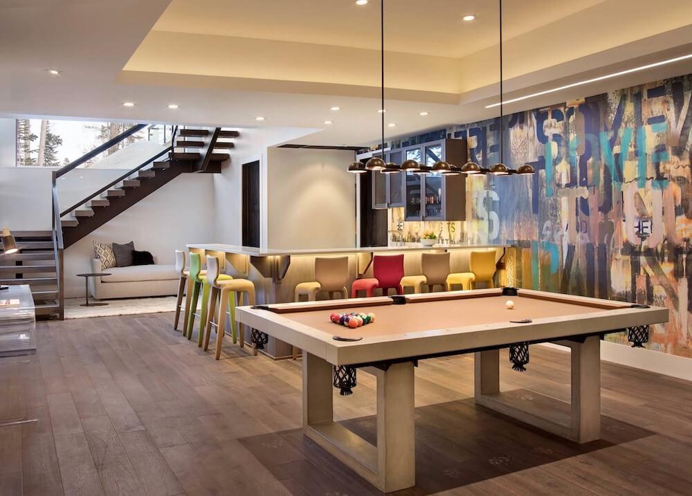 basement floor in Toronto