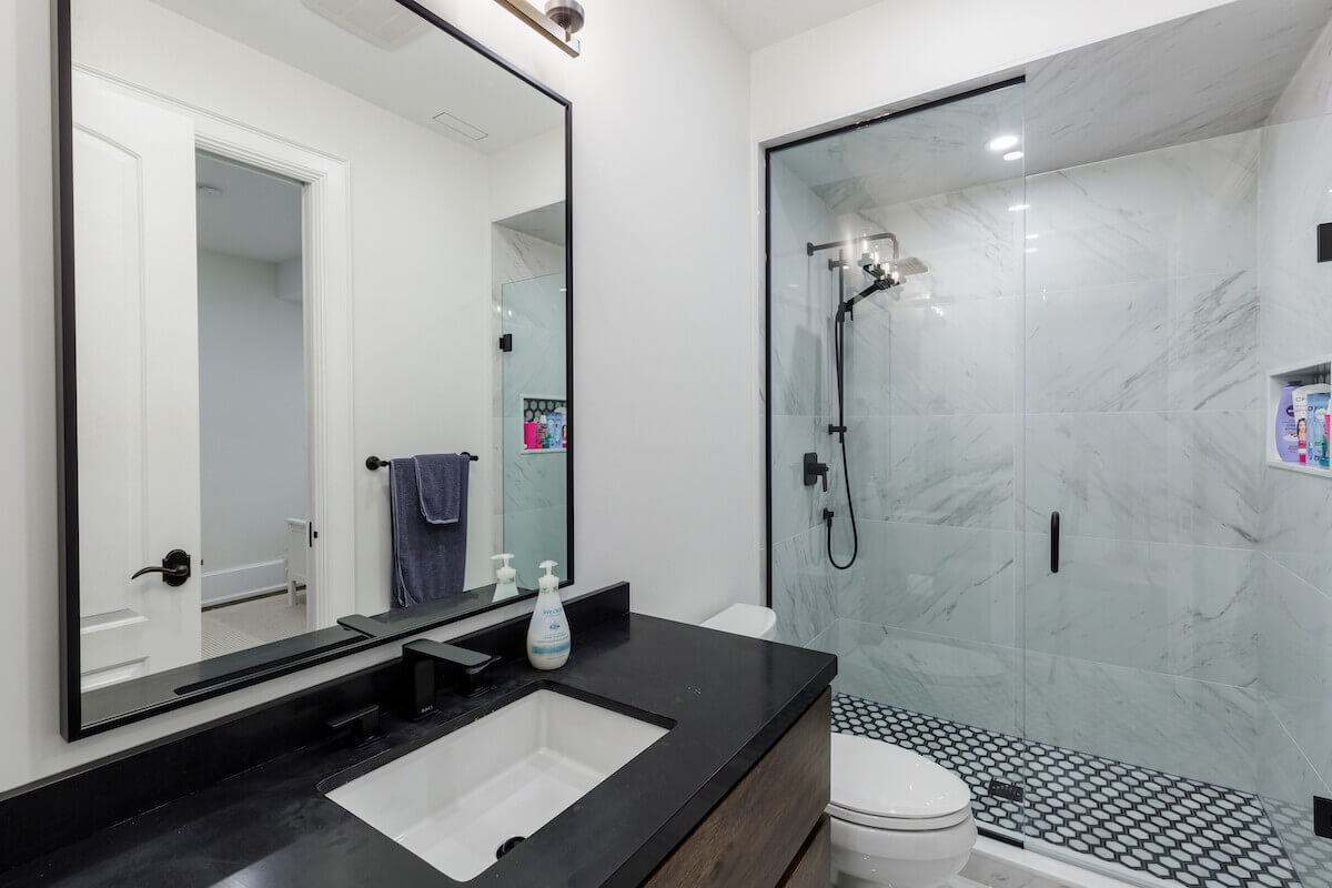 Basement Bathroom Renovation Ideas Designs Cost For Small Large